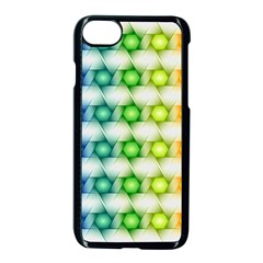 Background Colorful Geometric Apple Iphone 7 Seamless Case (black)