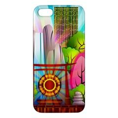 Zen Garden Japanese Nature Garden Iphone 5s/ Se Premium Hardshell Case