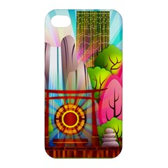 Zen Garden Japanese Nature Garden Apple Iphone 4/4s Hardshell Case