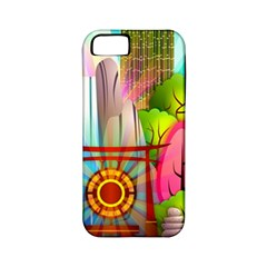 Zen Garden Japanese Nature Garden Apple Iphone 5 Classic Hardshell Case (pc+silicone) by Nexatart