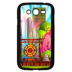 Zen Garden Japanese Nature Garden Samsung Galaxy Grand Duos I9082 Case (black)