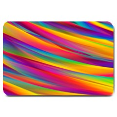 Colorful Background Large Doormat