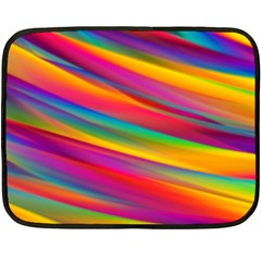Colorful Background Fleece Blanket (mini)