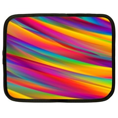 Colorful Background Netbook Case (xxl)