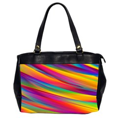 Colorful Background Office Handbags (2 Sides)