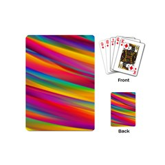 Colorful Background Playing Cards (mini)