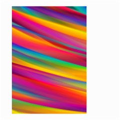 Colorful Background Small Garden Flag (two Sides)