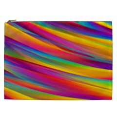 Colorful Background Cosmetic Bag (xxl)