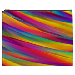 Colorful Background Cosmetic Bag (xxxl)