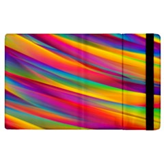 Colorful Background Apple Ipad 2 Flip Case by Nexatart