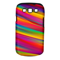 Colorful Background Samsung Galaxy S Iii Classic Hardshell Case (pc+silicone)