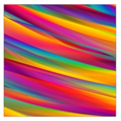 Colorful Background Large Satin Scarf (square)