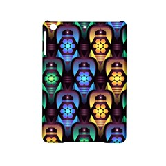Pattern Background Bright Blue Ipad Mini 2 Hardshell Cases