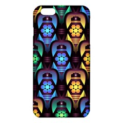 Pattern Background Bright Blue Iphone 6 Plus/6s Plus Tpu Case