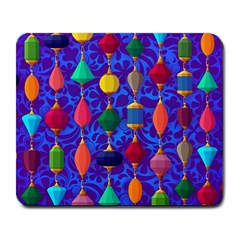 Colorful Background Stones Jewels Large Mousepads