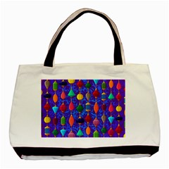 Colorful Background Stones Jewels Basic Tote Bag