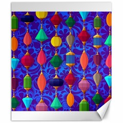 Colorful Background Stones Jewels Canvas 20  X 24