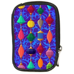 Colorful Background Stones Jewels Compact Camera Cases