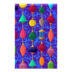 Colorful Background Stones Jewels Shower Curtain 48  X 72  (small)