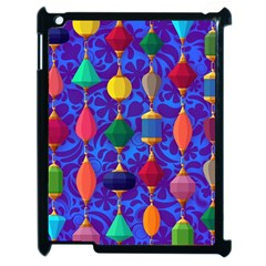 Colorful Background Stones Jewels Apple Ipad 2 Case (black)