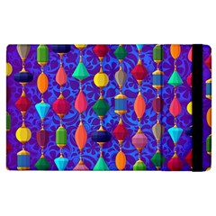 Colorful Background Stones Jewels Apple Ipad 2 Flip Case
