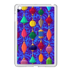 Colorful Background Stones Jewels Apple Ipad Mini Case (white) by Nexatart