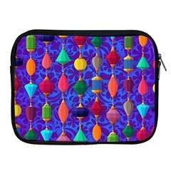 Colorful Background Stones Jewels Apple Ipad 2/3/4 Zipper Cases