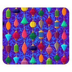 Colorful Background Stones Jewels Double Sided Flano Blanket (small)