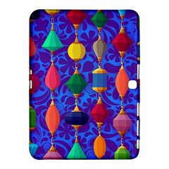 Colorful Background Stones Jewels Samsung Galaxy Tab 4 (10 1 ) Hardshell Case