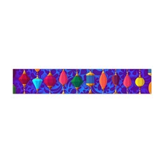 Colorful Background Stones Jewels Flano Scarf (mini)