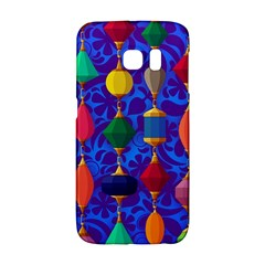 Colorful Background Stones Jewels Galaxy S6 Edge