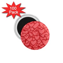 Background Hearts Love 1 75  Magnets (100 Pack)