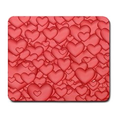 Background Hearts Love Large Mousepads
