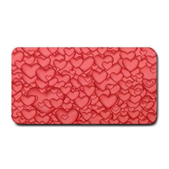 Background Hearts Love Medium Bar Mats