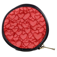 Background Hearts Love Mini Makeup Bags