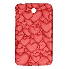 Background Hearts Love Samsung Galaxy Tab 3 (7 ) P3200 Hardshell Case  by Nexatart