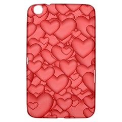 Background Hearts Love Samsung Galaxy Tab 3 (8 ) T3100 Hardshell Case