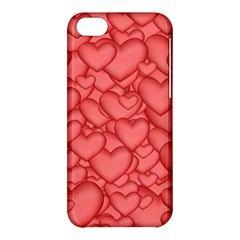 Background Hearts Love Apple Iphone 5c Hardshell Case