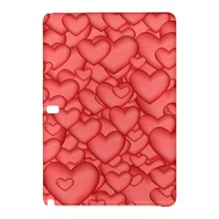Background Hearts Love Samsung Galaxy Tab Pro 10 1 Hardshell Case