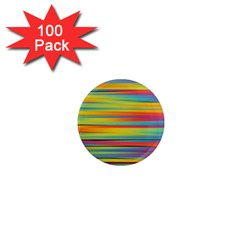 Colorful Background 1  Mini Magnets (100 Pack)