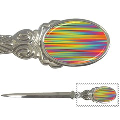 Colorful Background Letter Openers