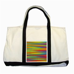 Colorful Background Two Tone Tote Bag