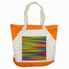 Colorful Background Accent Tote Bag