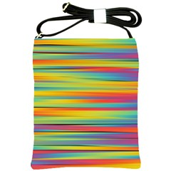 Colorful Background Shoulder Sling Bags