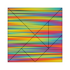 Colorful Background Acrylic Tangram Puzzle (6  X 6 )