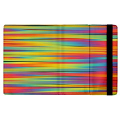 Colorful Background Apple Ipad 3/4 Flip Case