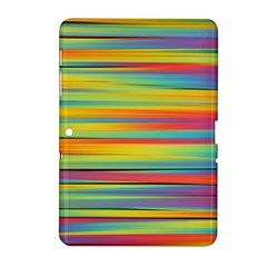 Colorful Background Samsung Galaxy Tab 2 (10 1 ) P5100 Hardshell Case