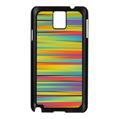 Colorful Background Samsung Galaxy Note 3 N9005 Case (black)