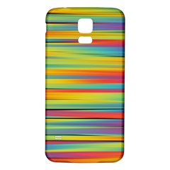 Colorful Background Samsung Galaxy S5 Back Case (white)