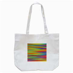 Colorful Background Tote Bag (white)